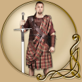 Costume - William Wallace Kilt and Belt